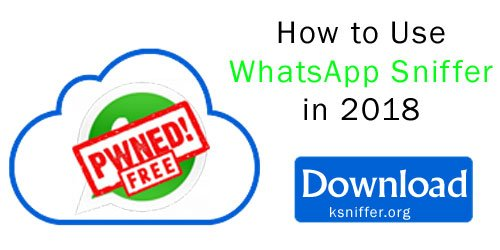 how to use whatsapp sniffer 2018