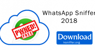 WhatsApp Sniffer 2018